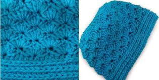 Free Crochet Pattern For Messy Bun Hat Amazing Seashore Crocheted Messy Bun Hat [FREE Crochet Pattern]