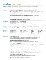 Best Font For Resumes Resume Template Ideas