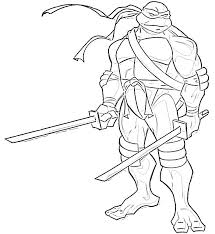 Turtle Colouring In Ninja Turtle Color Pages To Print Teenage Mutant