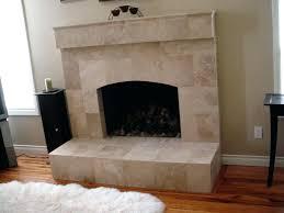 tile over brick fireplace story a brick fireplace makeover testimonial refacing brick fireplace