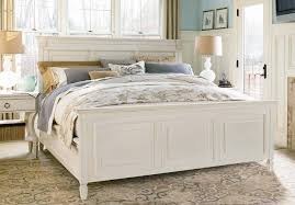 coastal style furniture. Universal Furniture Summer Hill 4PC Panel Bedroom Set In Cotton Coastal Style