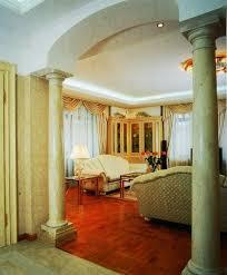 35 Modern Interior Design Ideas Incorporating Columns into Spacious Room  Design
