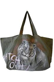 Art Bag Nyc Gypsetters Art Bag Tiger Netherlands Spain And Canvases