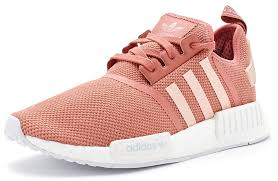 adidas shoes pink and white. adidas-nmd-r1-primeknit-women-trainers-in-vapour- adidas shoes pink and white