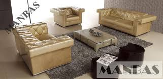 modern industrial design multi function leather chesterfield sofa leather 3