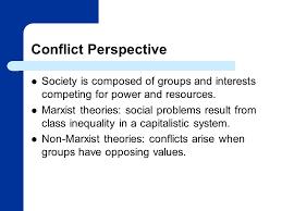 understanding social problems third edition mooney knox schact 8 conflict perspective