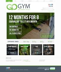 gym website design crafting edge go gym website gym management with payments and