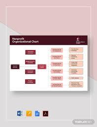 Free 6 Best Nonprofit Organizational Chart Examples