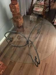 handmade wood coffee table handmade coffee table with forged iron base round glass top handmade solid