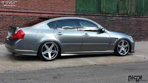 Infiniti M45 Niche Nurburg - M881 Wheels Silver & Machined/Chrome ...