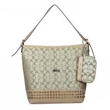Coach Legacy Duffle In Stud Signature Medium Khaki Shoulder Bags BDG Give  You The Best feeling!