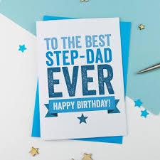 Design A Birthday Card For Dad Step Dad Or Step Father Birthday Card Birthday Card Greetings Card