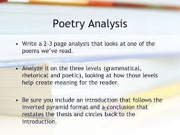 write poetry analysis essay keywords for thesis statement comprehensive dissertation index annual supplements all