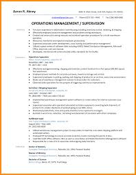 Supervisor Duties Resume Warehouse Operations Manager Sample Job Description Resume 24
