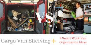 cargo van shelving