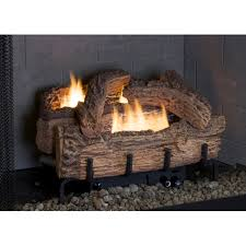 everwarm 18 palmetto oak ventless natural gas log set with manual control