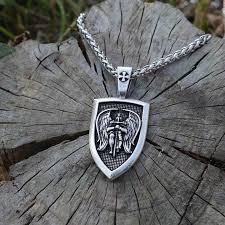st michael archangel pendant necklace