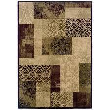 allen roth harrisburg cream rectangular transitional area rug view larger