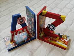 cool superhero bookends for your kid s room