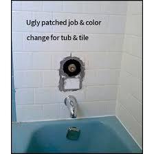 bathroom ceramic tile repair before 2
