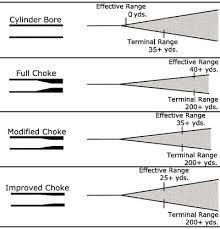 Remington 870 Choke Tube Chart Another Choke Pattern Pic Trap Shooting Shooting Guns