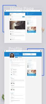 Web Designer Linkedin Linkedin Redesign Concept On Behance Web Design Design