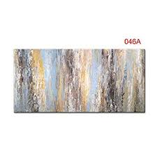 QIAISHI Handmade <b>Modular Pictures</b> Abstract Colorful Oil Paintings ...