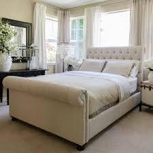 black upholstered sleigh bed. Full Size Of Bedroom:surprising Upholstered Sleigh Platform Poster Bedding Endearing Beds Queen Ashley Black Bed