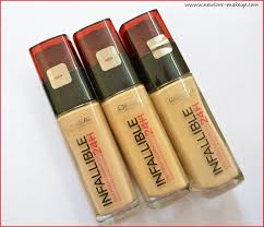 l oreal infallible colors l oreal infallible colors 32512 l oreal paris infallible reno liquid foundation