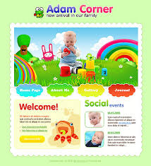 Free Templates For Kids Free Kids Website Template Children Kids Teens Website Templates