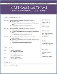 Free Resume Templates 2014 Professional Resume Templates
