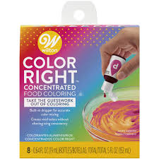 Wilton Color Right Performance Color System Chart Wilton Color Right Performance Food Coloring Set Achieve