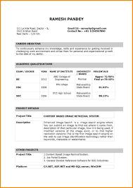Resume Format 2014 Tomyumtumweb Com