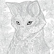 Coloring Pages Of Cute Animals Hard Difficult Cool Animal Realis