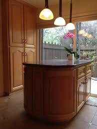 custom kitchens. Radiused Island Custom Kitchens