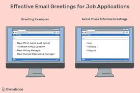 Best Letter And Email Salutations And Greetings