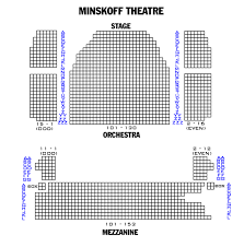 Minskoff Theatre New York Ny Seating Chart Minskoff Theatre Seating Chart Theatre In New York