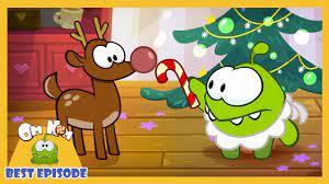 Om Nom Stories - Ếch con ăn kẹo | Giáng sinh ấm áp | Phim hoạt hình hay  nhất 2019 - YouTube