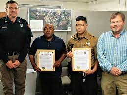 Cleveland men honored for taking action at Christmas Ev... | AccessWDUN.com