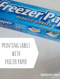 How to use Freezer Paper to Print on Fabric - | Freezer paper ... & How to use Freezer Paper to Print on Fabric - great method! Works well. Adamdwight.com