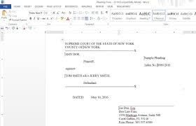 Court Document Templates Automate Court Documents Trialworks Blog
