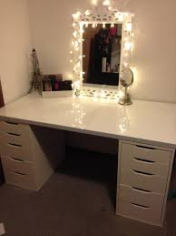my vanity makeup setup