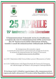 25 Aprile 2020 - Festa della Liberazione