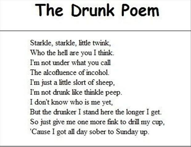 funny poem on friendship in english