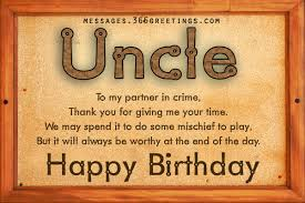 happy birthday poems for uncle happy