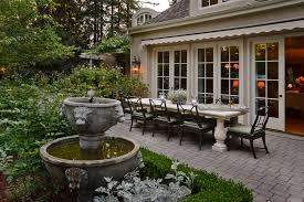 french country outdoor lighting. outdoor farm table patio mediterranean with french country lighting 7