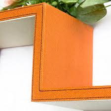 trista romantic classics s shaped leather wall shelf bookshelf floating shelf set of 2