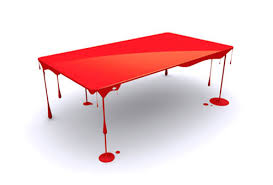 cool furniture design. Paint-drip-table Innovative Furniture Design: Coffee Tables, Chairs, Sofas, Cool Design N