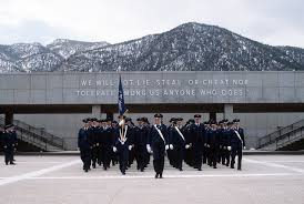 Usafa Cadet Pay Chart Cadets March On The Terrazzo During A Parade At The U S Air