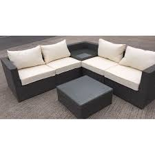 corner sofas with table.  Table MMT Premium Grey Rattan Lshaped Sofa Corner Set With Built In Drinks Table  And Throughout Corner Sofas With Table